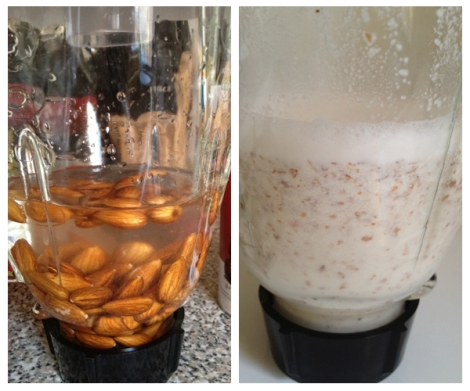 Homemade Almond Milk - The Savory and The Beautiful