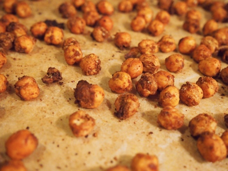 Chickpea Crunchies - The Savory and The Beautiful