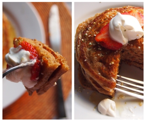 Cardamom Pancakes - The Savory and The Beautiful