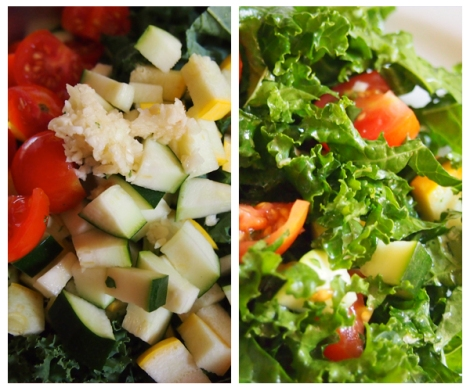 Cleansing Kale Salad 3 - The Savory and The Beautiful