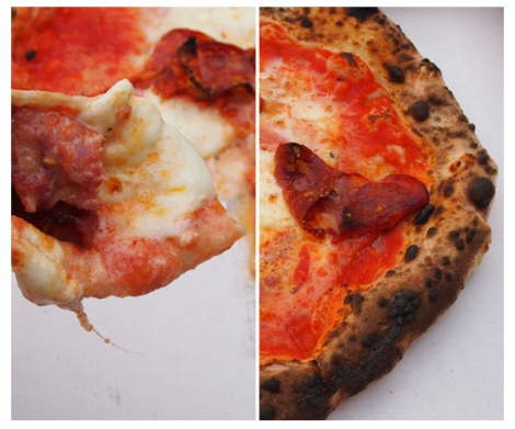 Gusto Pizzeria - The Savory and The Beautiful