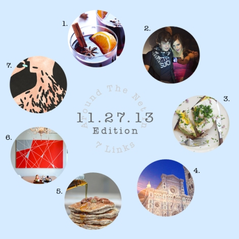 Around the Net in 7 Links 11.27.13 | The Savory and The Beautiful