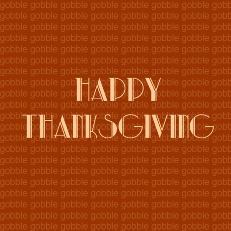Happy Thanksgiving | The Savory and The Beautiful