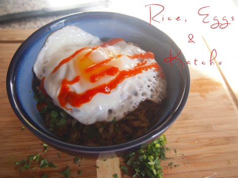rice eggs katchu 6 | The Savory and The Beautiful