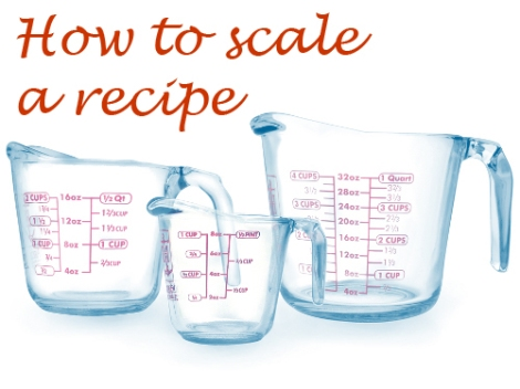 How to Scale a Recipe 2 | The Savory and The Beautiful