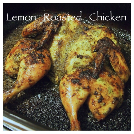 Lemon Roasted Chicken 8 | The Savory and The Beautiful