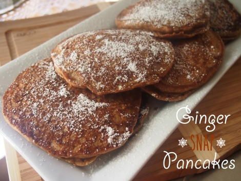 Ginger Snap Pancakes | The Savory and The Beautiful