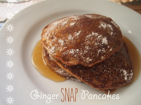 Ginger Snap Pancakes 4 | The Savory and The Beautiful