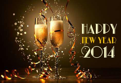 Happy New Year - Feliz Nuevo Año 2014   The Savory and The Beautiful